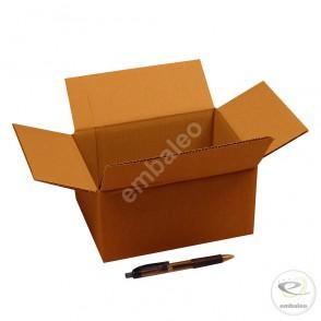 Carton simple cannelure 21x16x10 cm