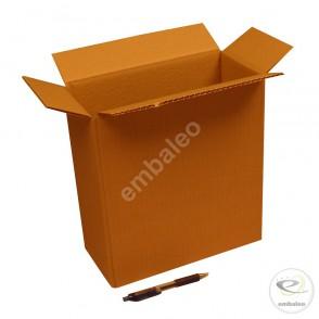 Carton simple cannelure 27x13x29 cm
