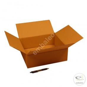 Carton simple cannelure 32x28x11 cm