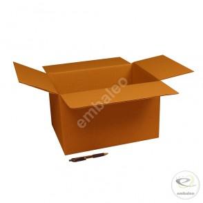 Carton simple cannelure 37x28x22 cm