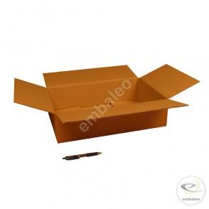 Carton simple cannelure 45x30x11,5 cm