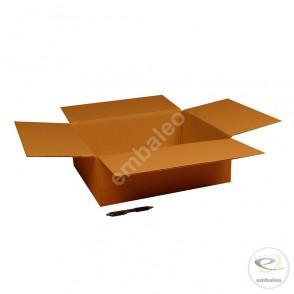 Carton simple cannelure 45x40x15 cm