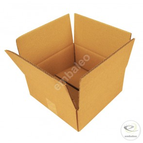 Carton double cannelure 30 x 30 x 15 cm