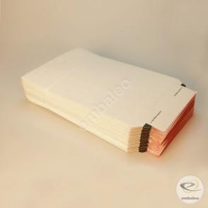 Enveloppe carton blanche A4 23,5 x 34 cm