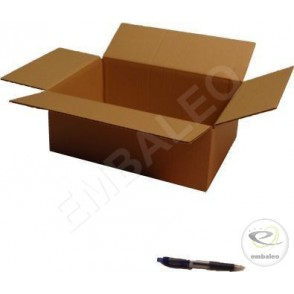 20 Cartons standards 35.5x24x13 cm