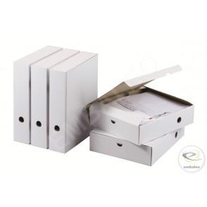 Boîtes archives avec clip A4 25,5 x 7,1 x 31 cm