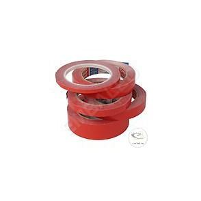 Ruban Adhésif Couleur Rouge PVC 19/66ml