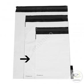 Pochettes plastiques opaques n°2 35 x 45 cm 55µ