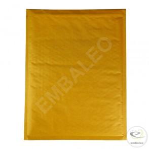 Enveloppe bulle marron H Mail Lite Gold 27x36cm