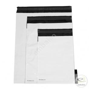 Pochettes plastiques opaques Embaleo 45 x 45 cm 55 µ