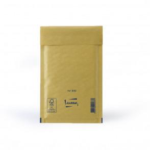 Enveloppe bulle marron B Mail Lite Gold 12x21cm